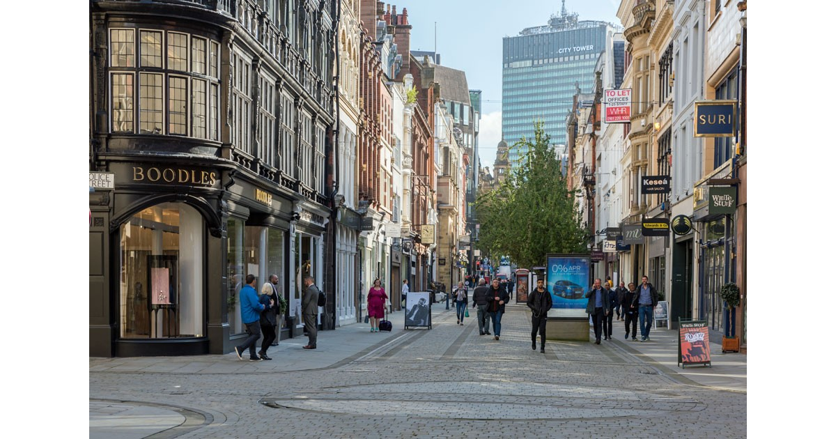 King's Street Manchester - courtesy of Marketing Manchester