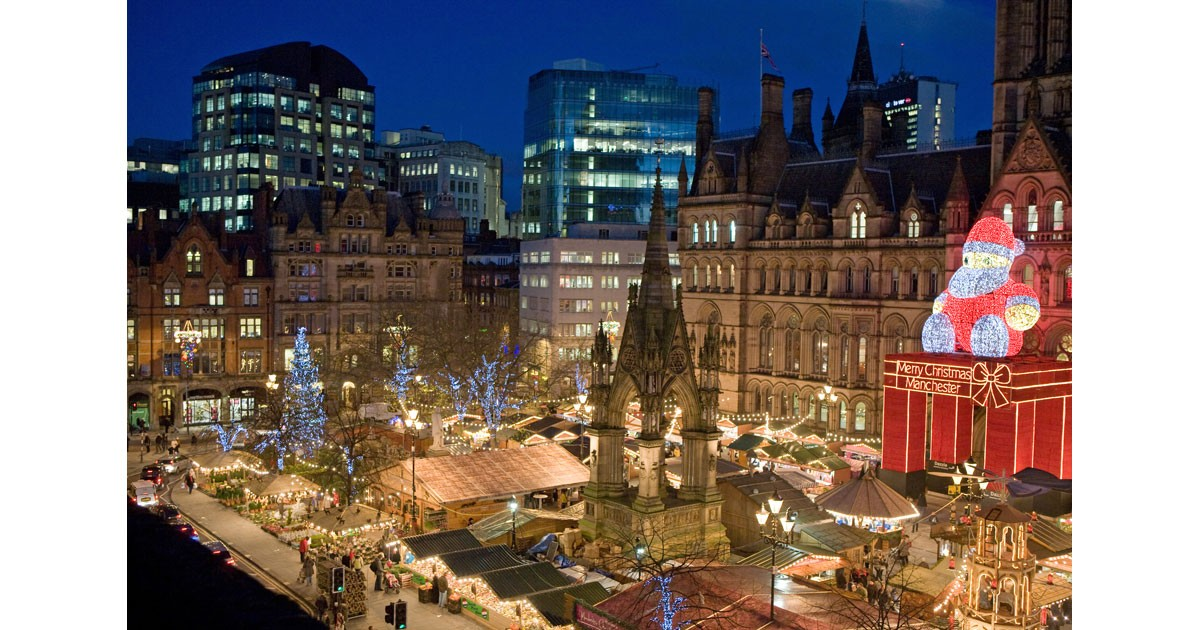 Manchester Christmas Markets courtesy of Marketing Manchester