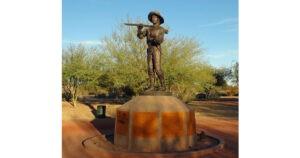 Mormon Battalion Statue, Yuma, AZ