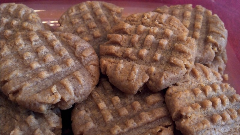 Donna's Country-style Peanut Butter Cookies