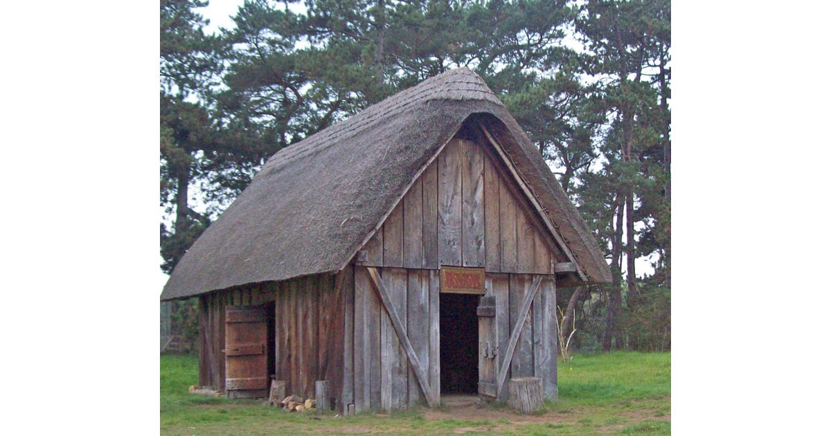 Reconstructed Better class Saxon building