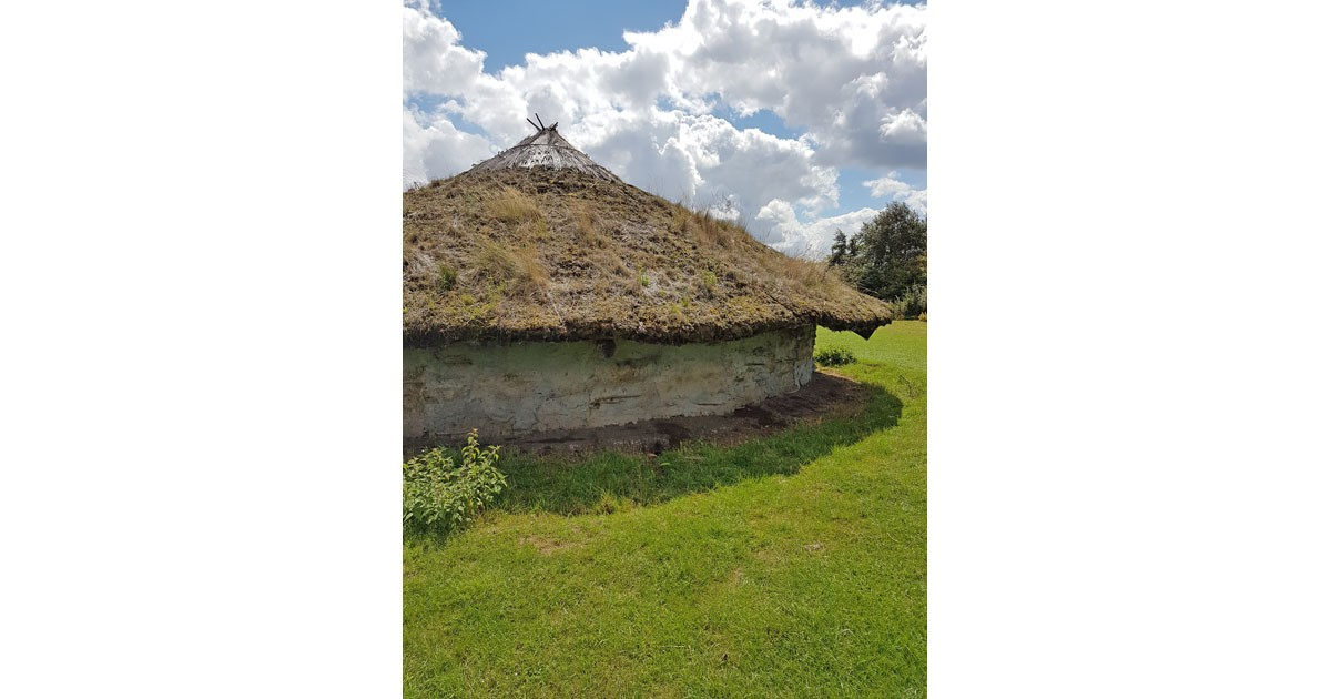 Reconstructed Iron Age roundhouse