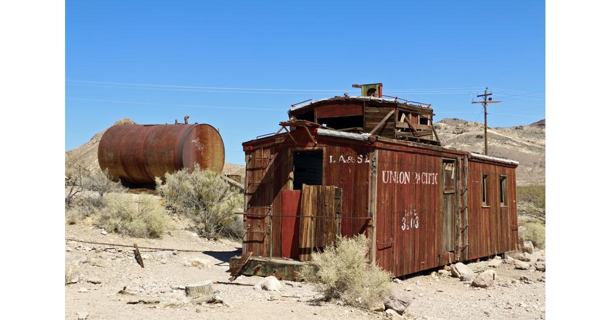 Union Pacific Train Depot