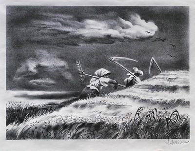Artist Georges Schreiber