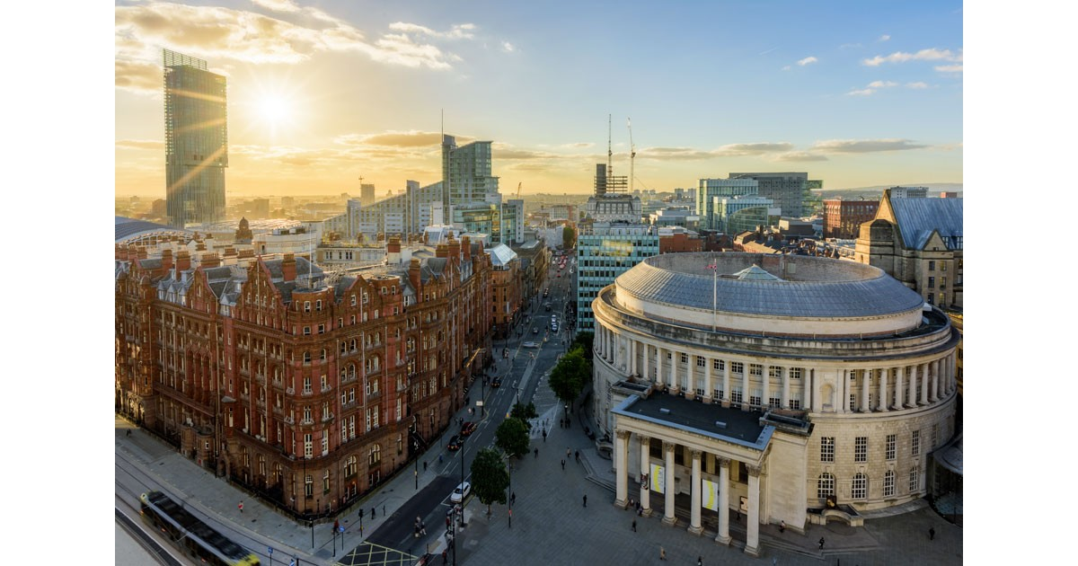 View from St. Peters Square Manchester courtesy of Marketing Manchester