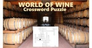 wine crossword puzzle