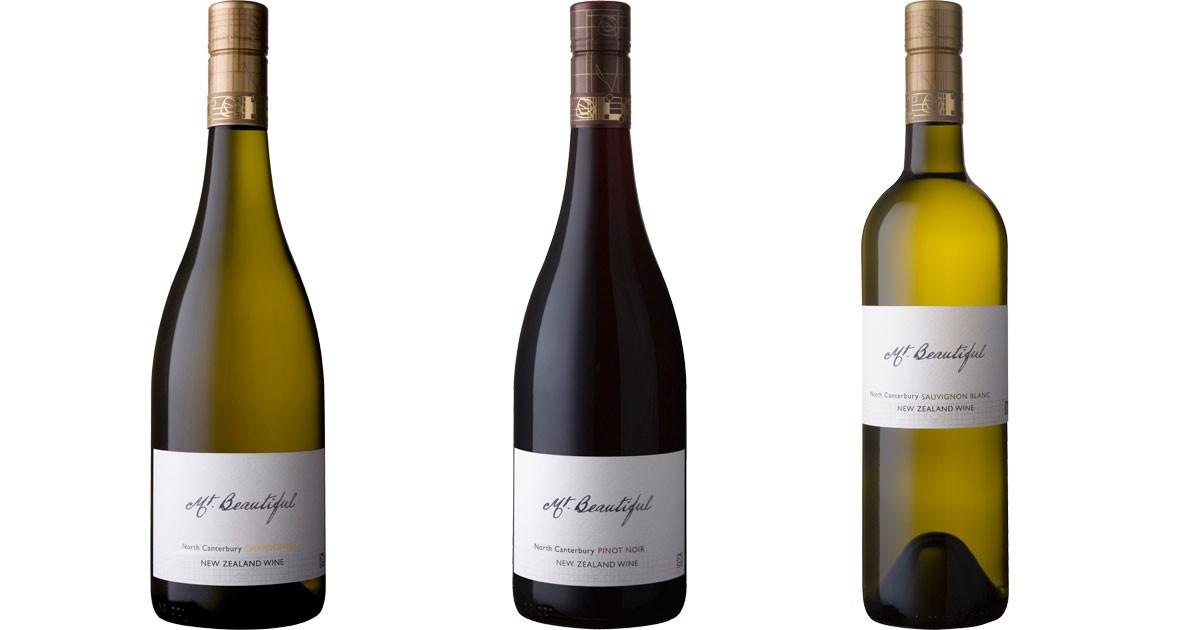 Chardonnay, Pinot Noir, & Sauvignon Blanc
