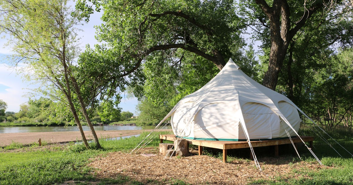 Yurt at the Platte River Fort Resort & Event Center